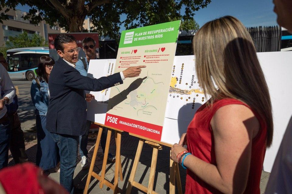 #26M: Paco Cuenca propone una «ruta del colesterol» en la ribera del río Monachil