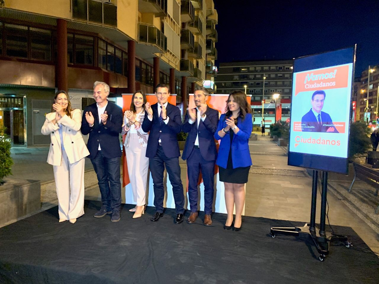 #26M: «El próximo Gobierno de la Plaza del Carmen va a ser naranja»