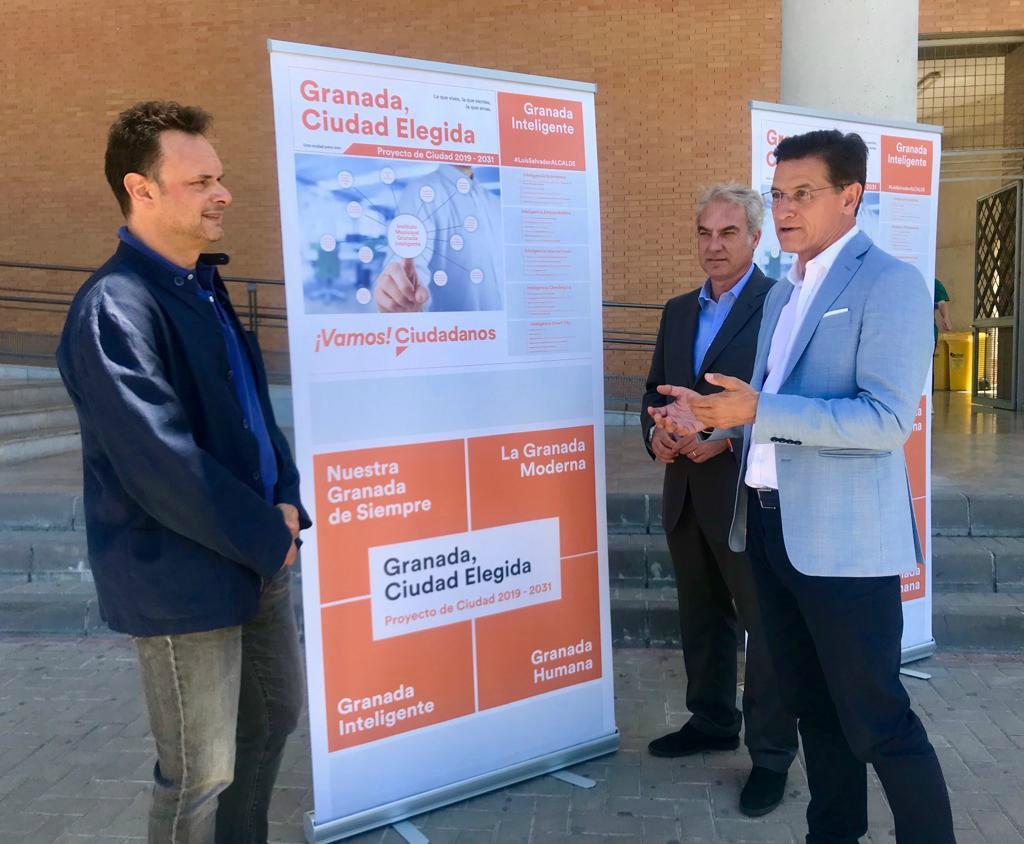 #26M: Ciudadanos creará el Instituto Municipal Granada Inteligente para impulsar la economía y el emprendimiento