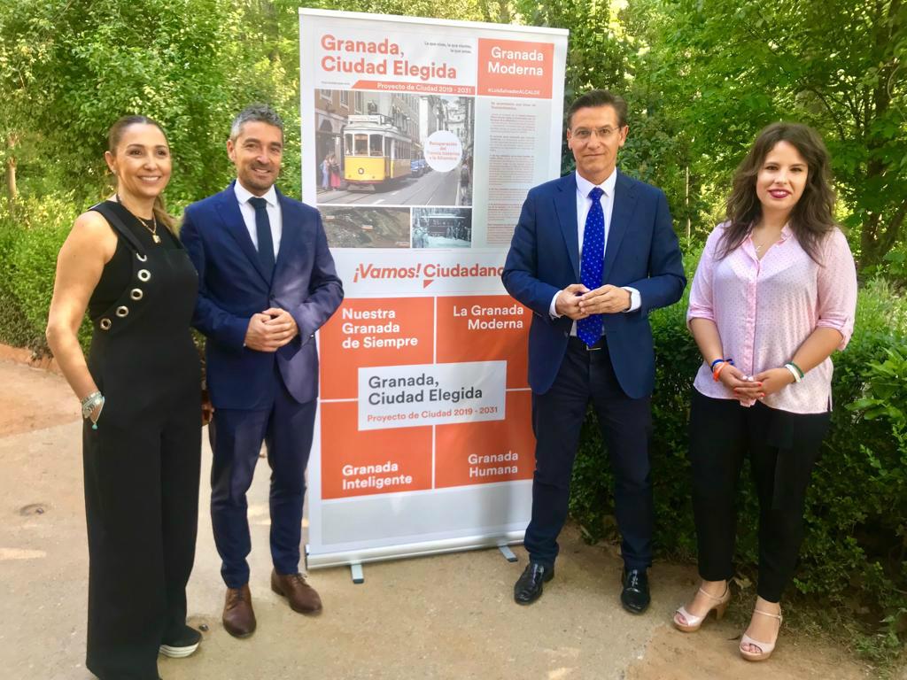 #26M: Ciudadanos propone instalar un tranvía entre Plaza Nueva y La Alhambra