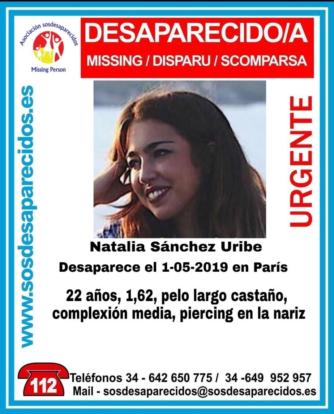 Localizada en buen estado la joven desaparecida en París