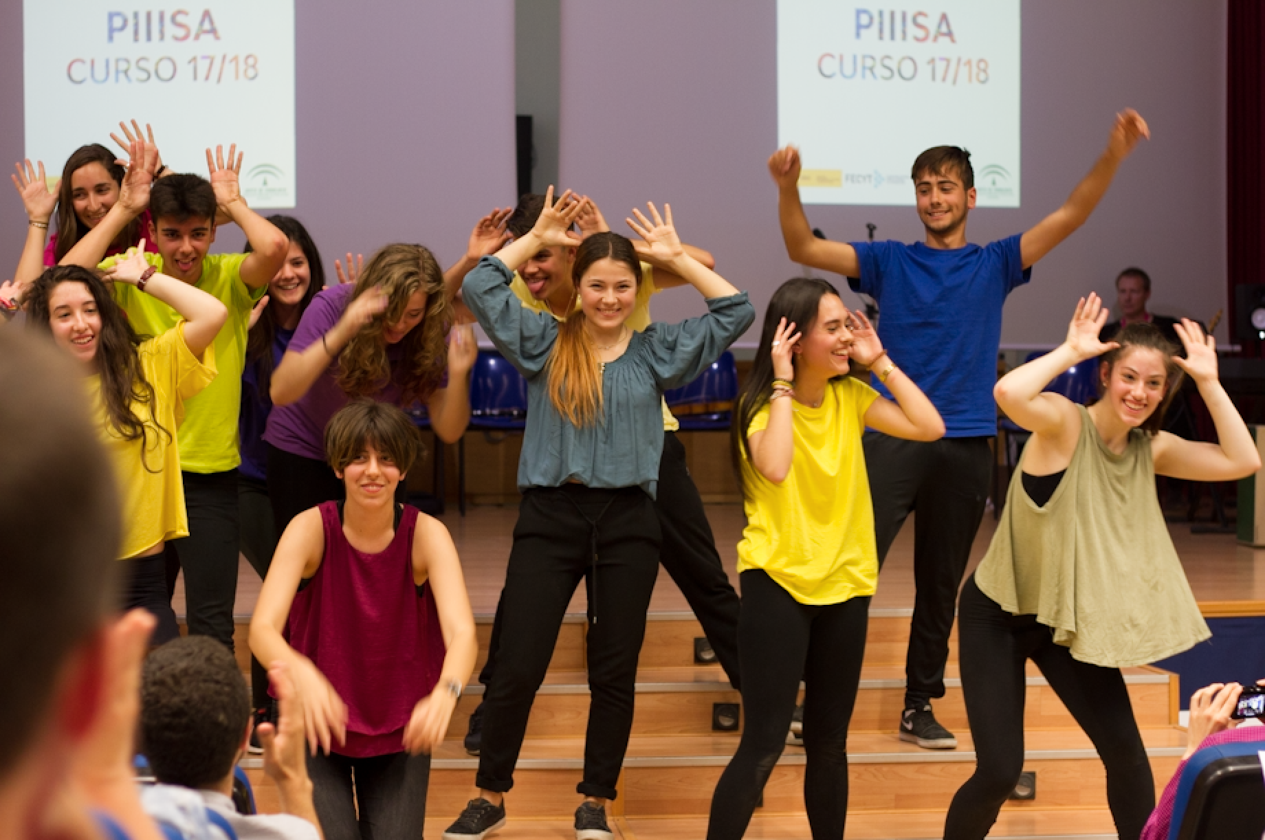 330 estudiantes de ESO y Bachillerato de la provincia participan en el IX Congreso PIIISA