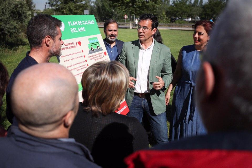 #26M: Cuenca se compromete a reducir los vehículos contaminantes que entran a Granada