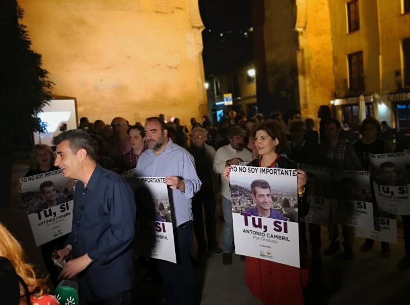 #26M: Podemos IU Adelante abre una campaña «para frenar a la derecha»