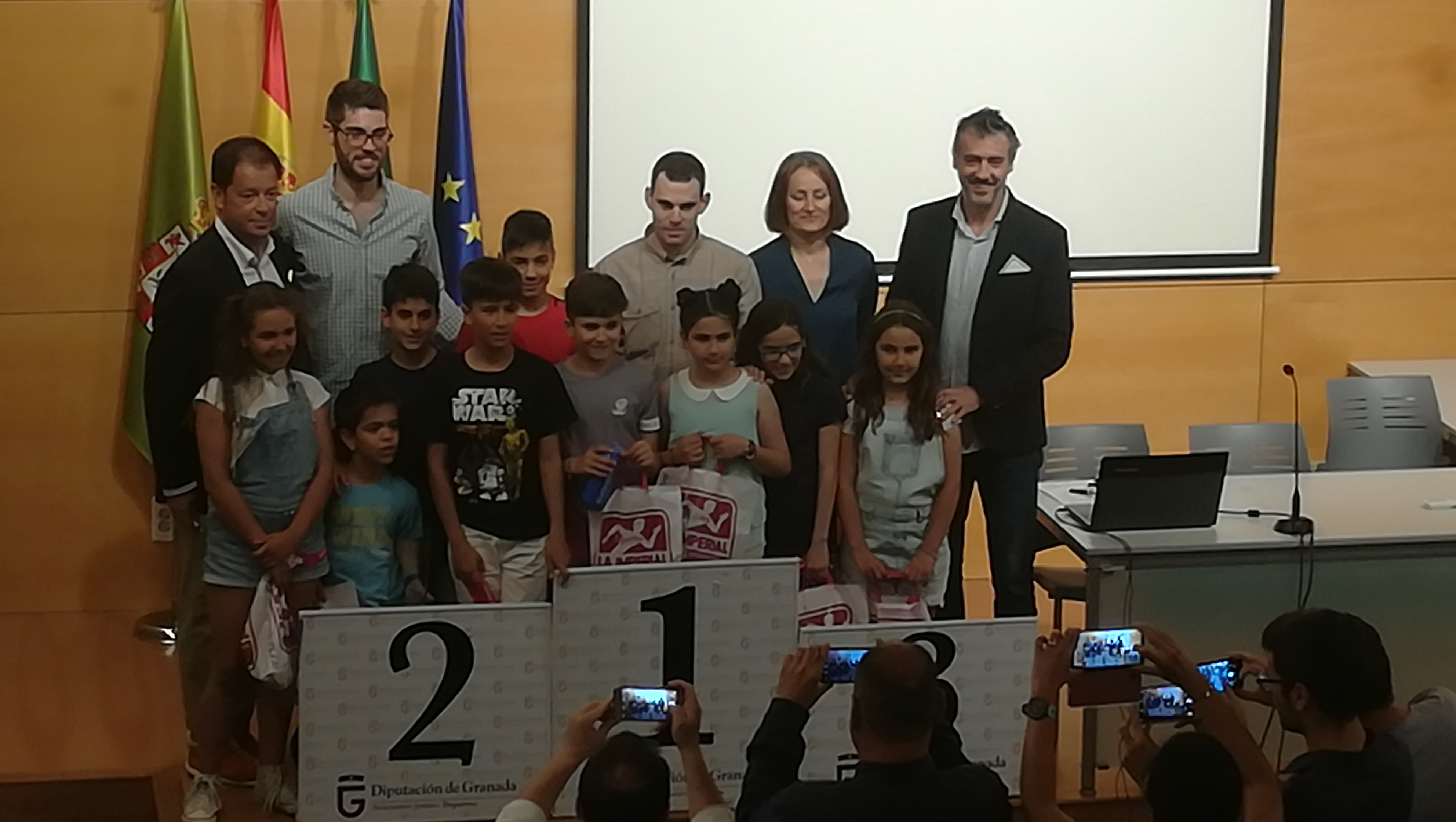 El Circuito provincial de Bádminton de Diputación finaliza con la entrega de premios a los mejores clubes