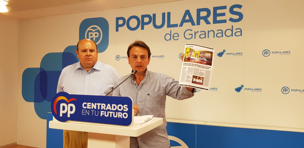 El PP señala a Cuenca por un posible de prevaricación al recibir el legado de Manuel Brazan