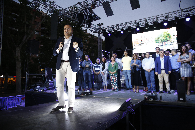 #26M: Sebastián Pérez pide a los granadinos que no dividan su voto y apuesten por el PP para gobernar de Granada