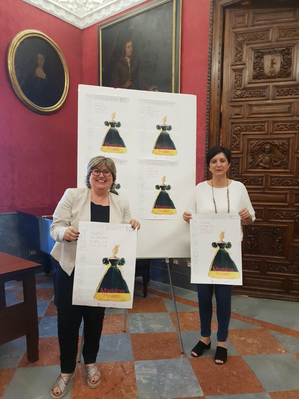 Arranca la 9ª edición del concurso «Teatro por la Igualdad Mariana Pineda»