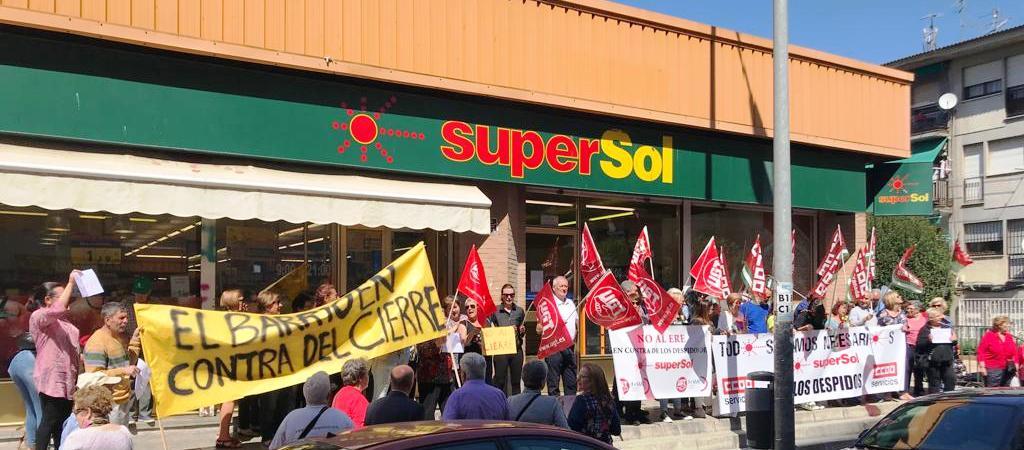 Los sindicatos alcanzan un acuerdo en el ERE de Supersol