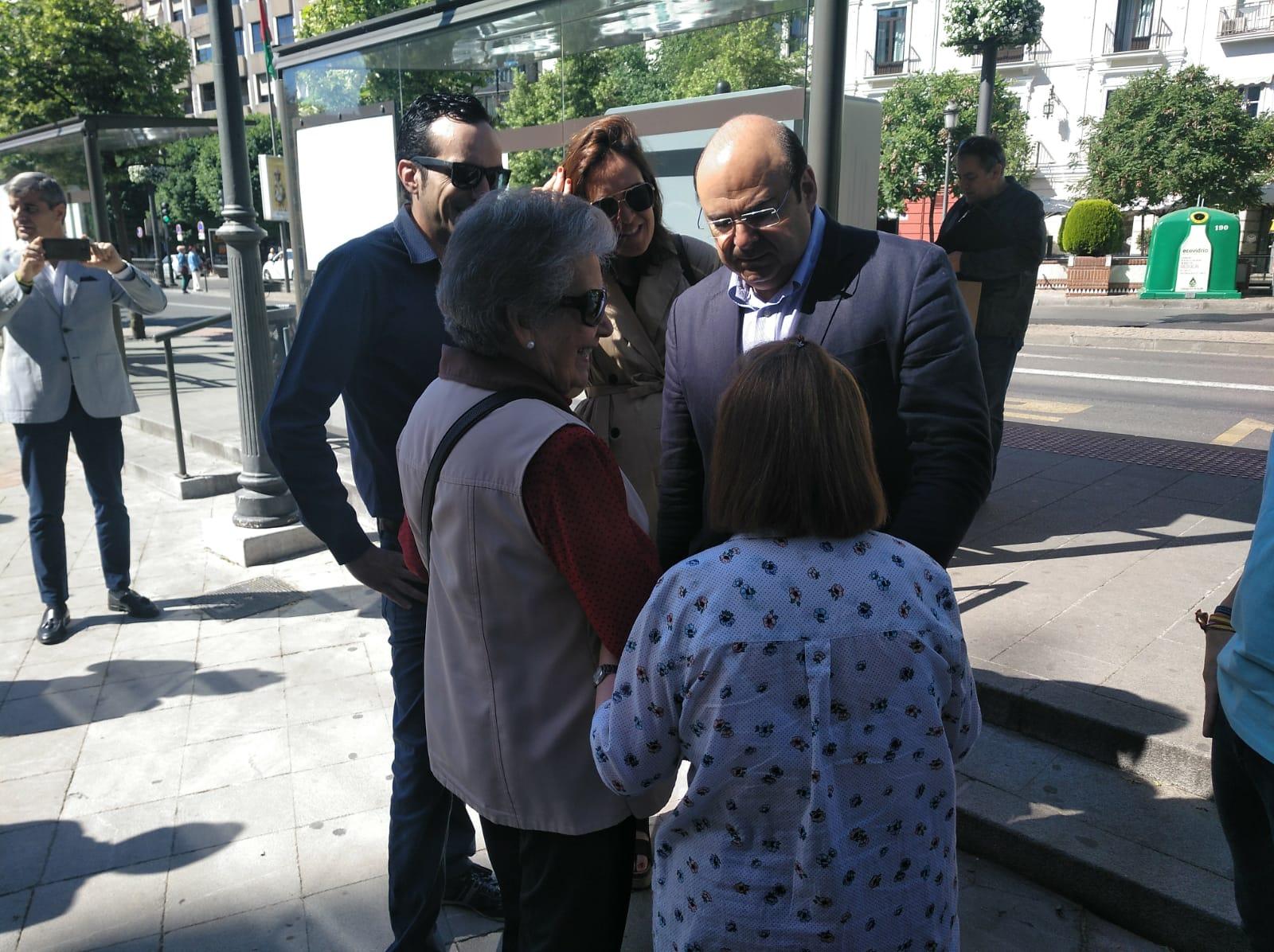 #26M Sebastián Pérez: «No nos fijamos en encuestas, el PP va a ganar y a gobernar»