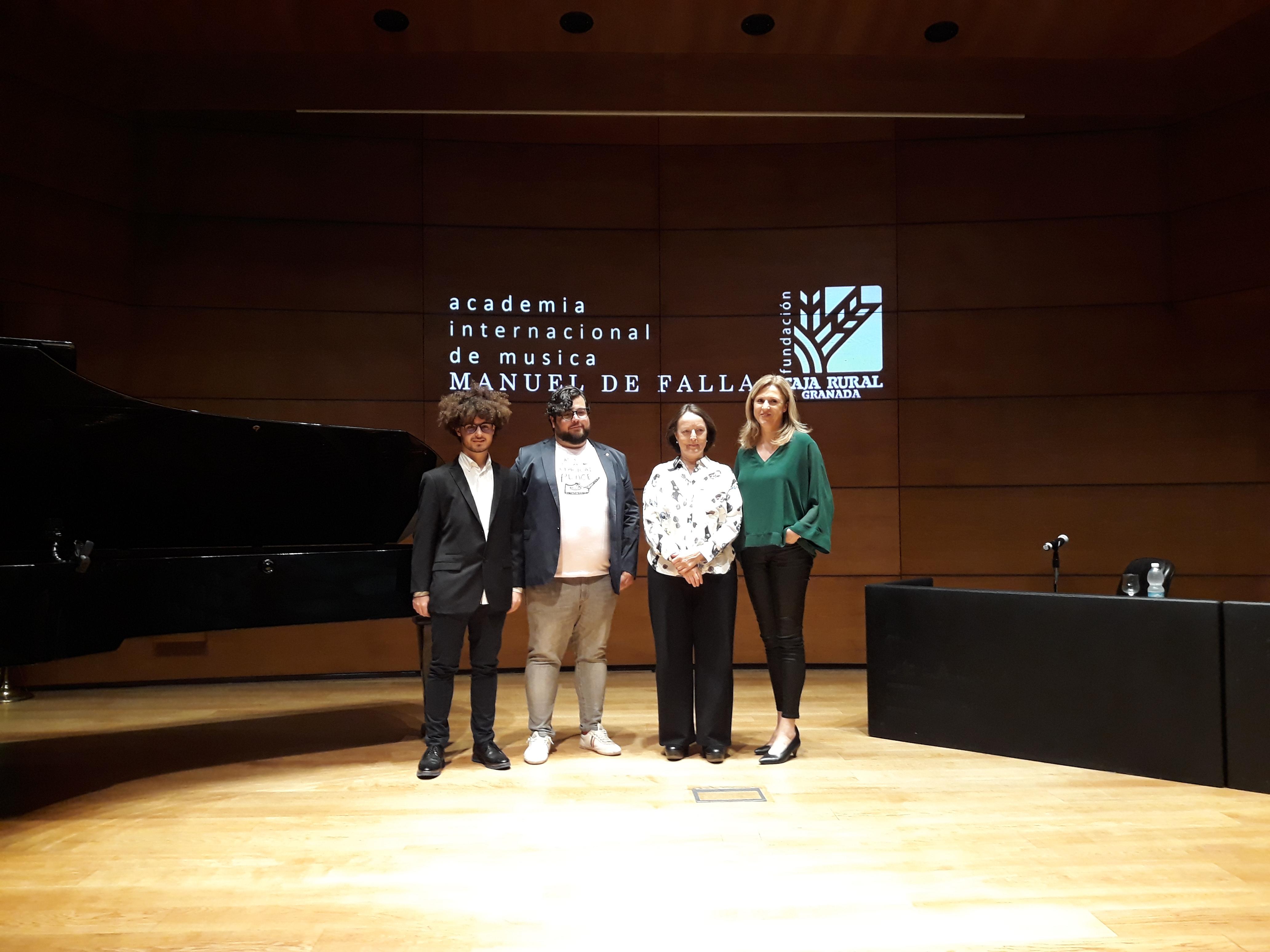 Ambrosio Valero «sueña» con una Academia Internacional de Música en Granada