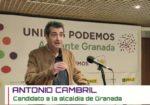 @26M: Cambril (Podemos-IU-Adelante) lamenta que se pierda «la oportunidad de un gobierno de izquierdas»