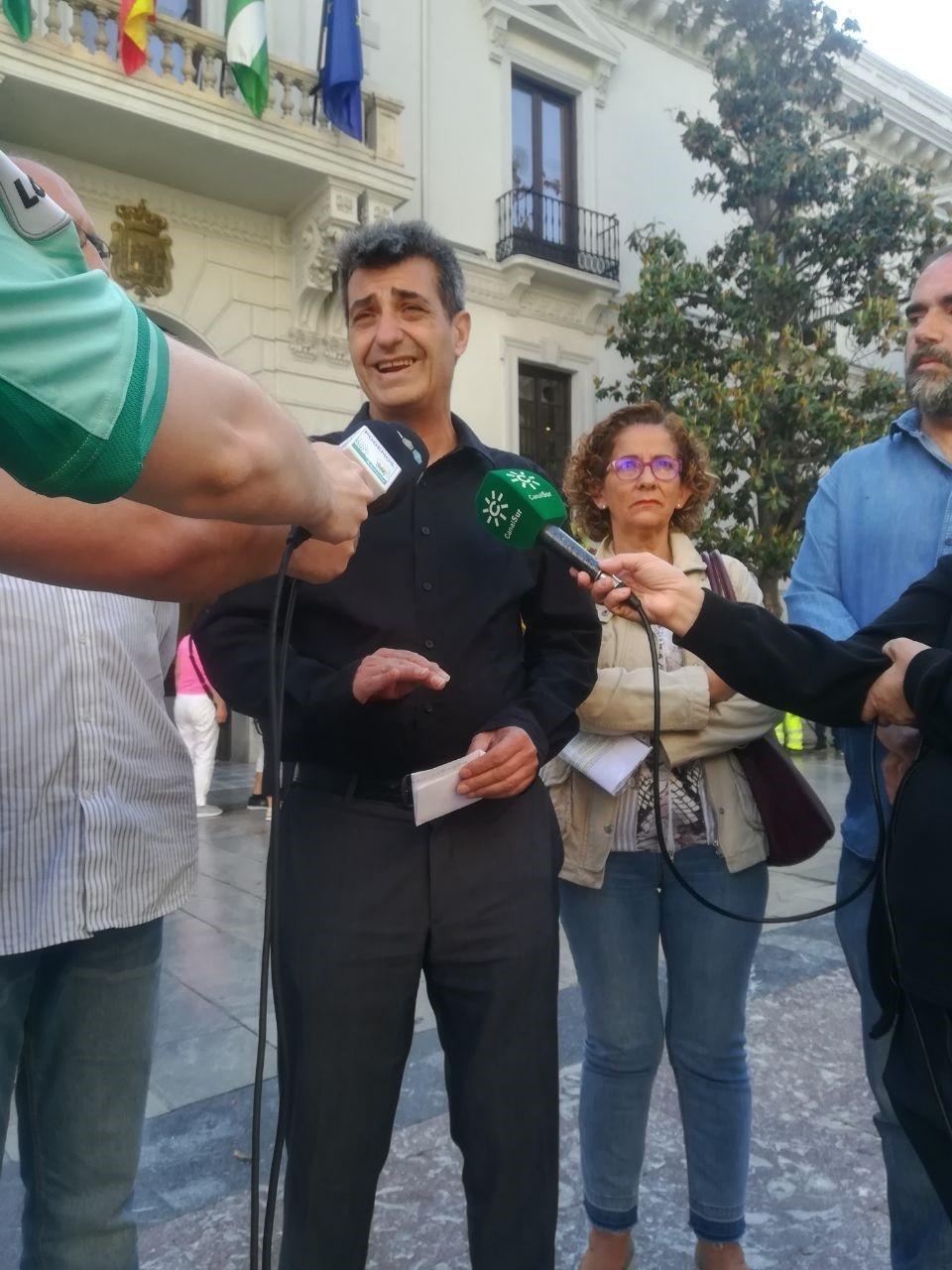 Podemos-IU exige al alcalde que defienda el tramo Granada-Almería del Corredor Mediterráneo