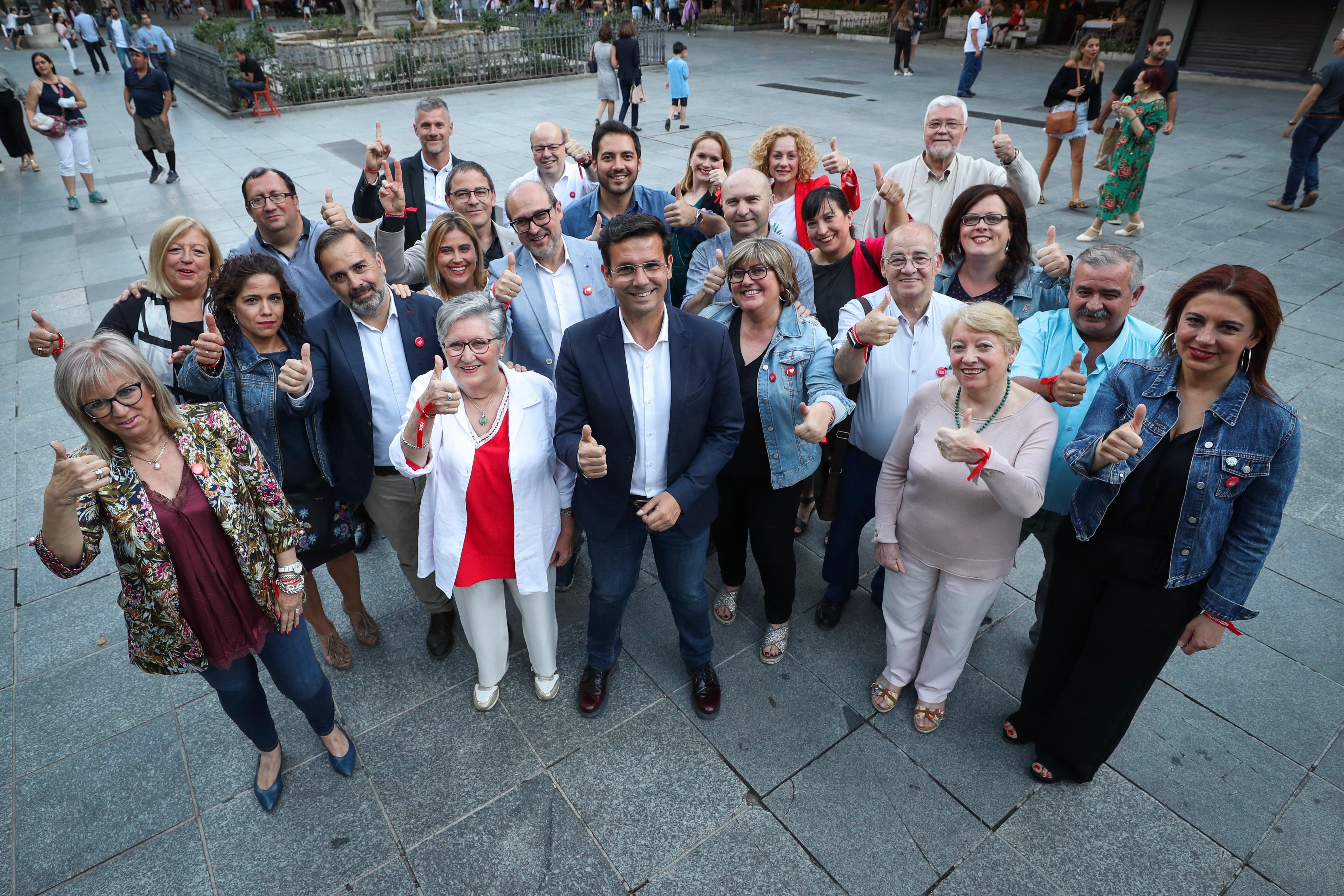 #26M: Cuenca pide el voto para seguir trabajando en la Granada que funciona
