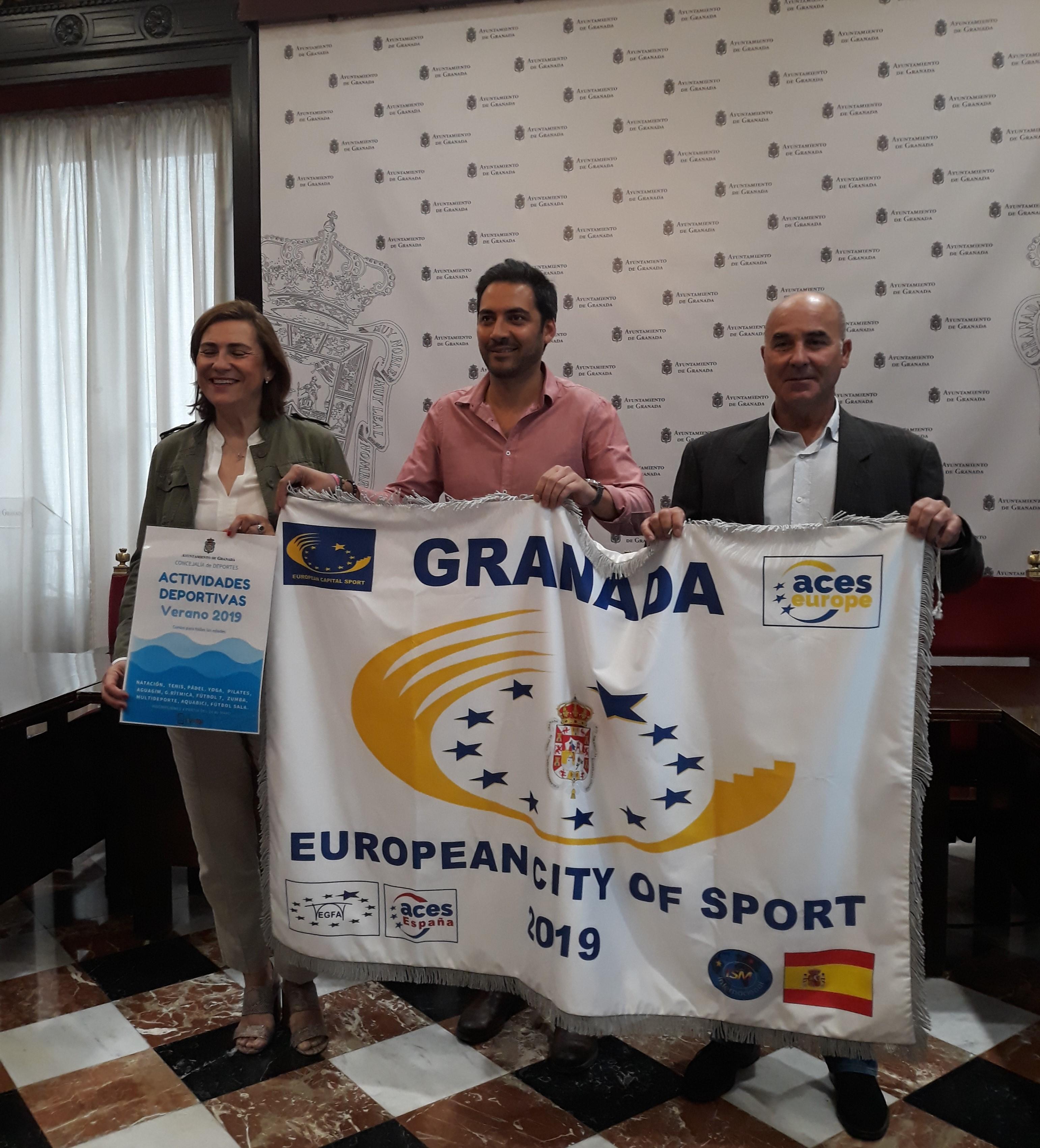 Granada, ciudad europea del deporte, ya tiene programa deportivo para este verano