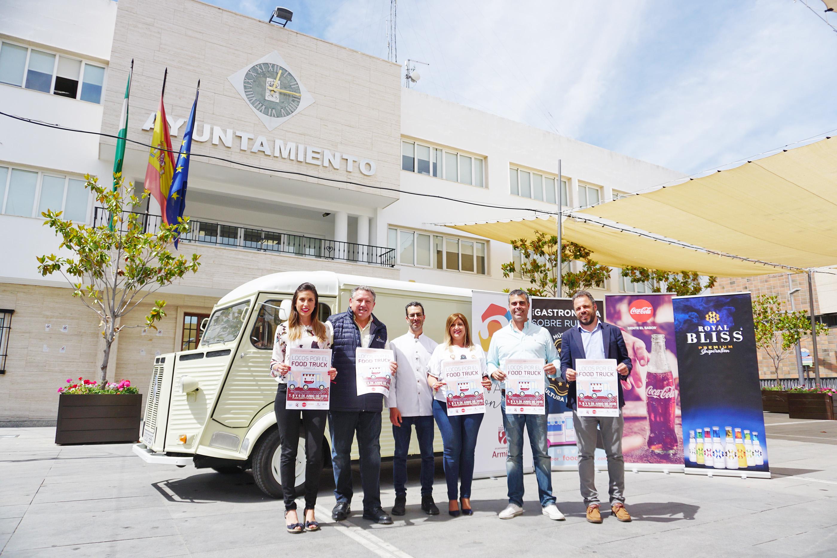 La cuarta edición de locos por el Food Truck llega a Armilla los días 7, 8 y 9 de junio