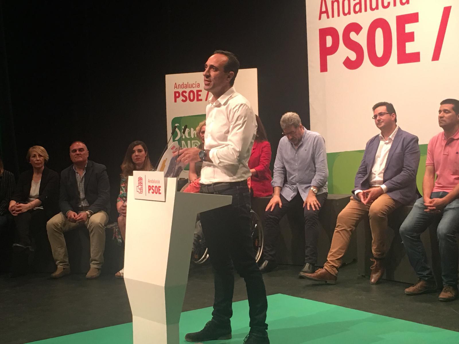 #26M: El PSOE se presenta en Loja como la opción «de prosperidad» frente a la «parálisis de la derecha»
