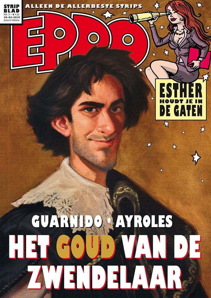 Juanjo Guarnido pone una pica en Flandes