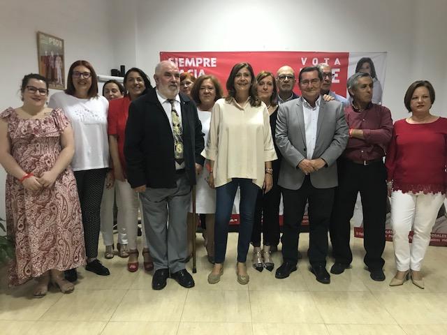Entrena considera que el PSOE es la única garantía para que Ogíjares avance