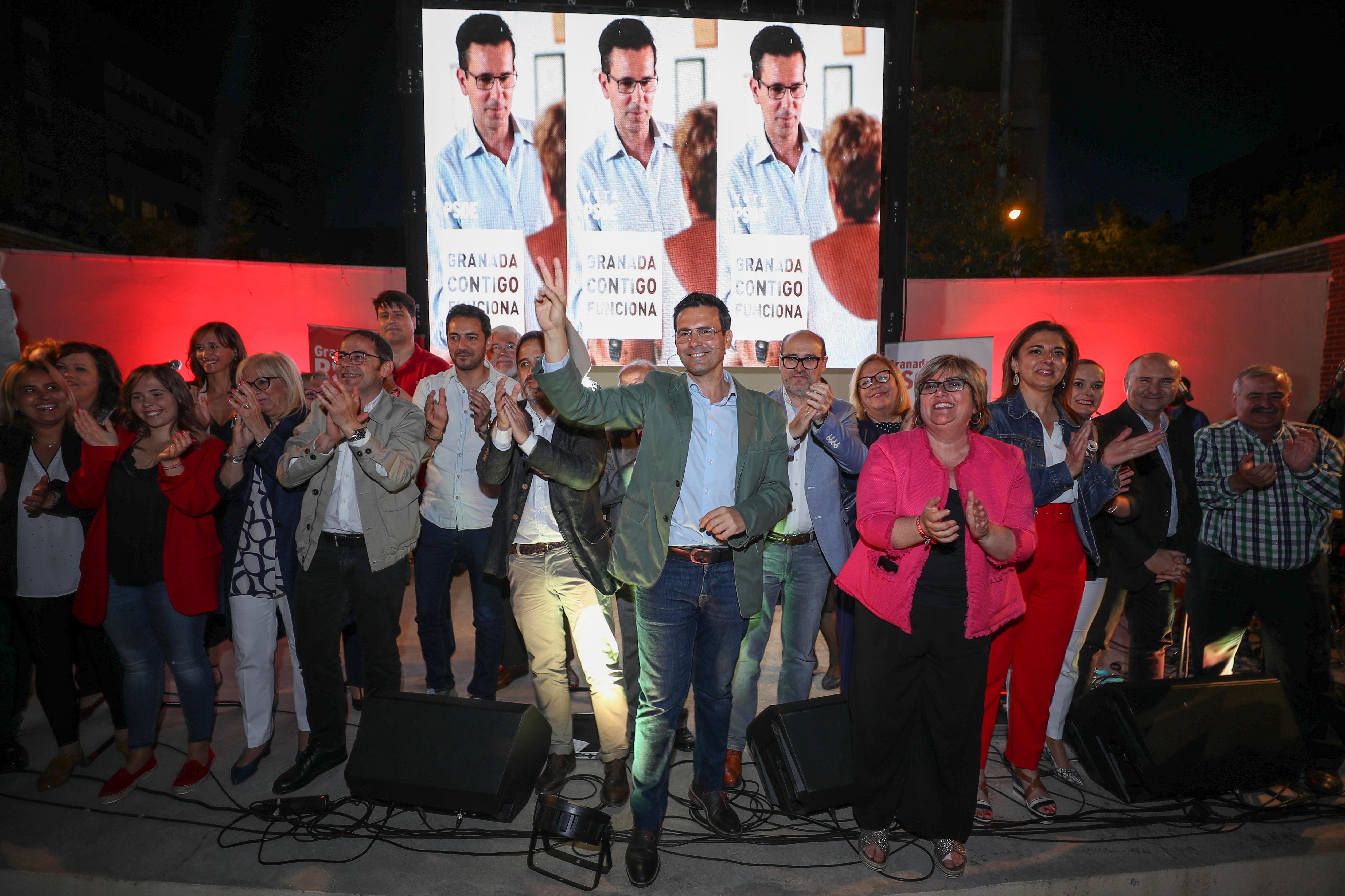 #26M: Cuenca llama a votar contra el «retroceso» de una suma de derechas y defiende un proyecto «de continuidad»