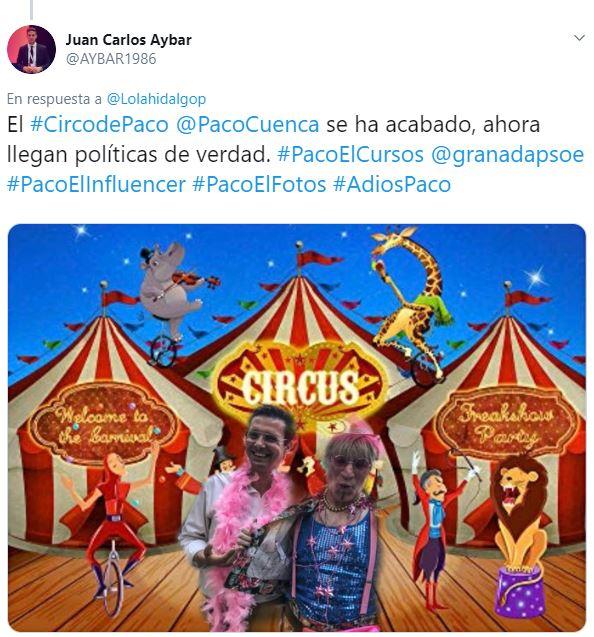 El número 10 de la lista de Ciudadanos ridiculiza al Orgullo LGTBI para atacar a Cuenca
