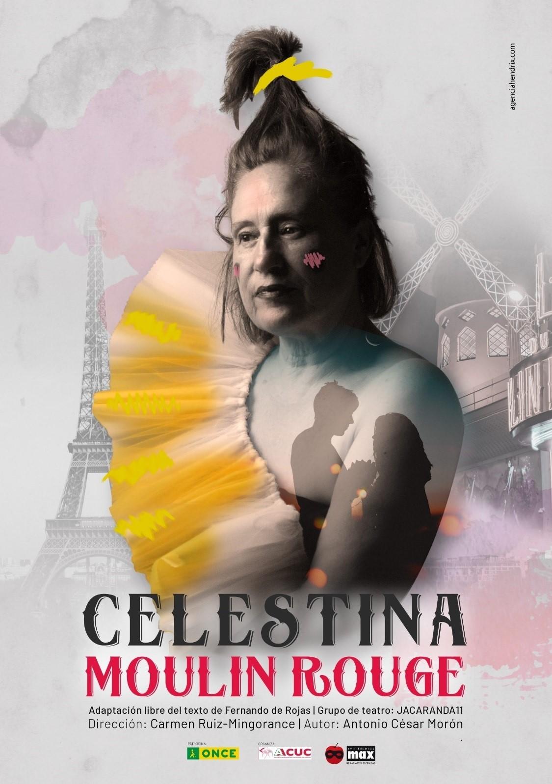 Actrices ciegas y con discapacidad visual grave llevan a escena 'Celestina, Moulin Rouge'