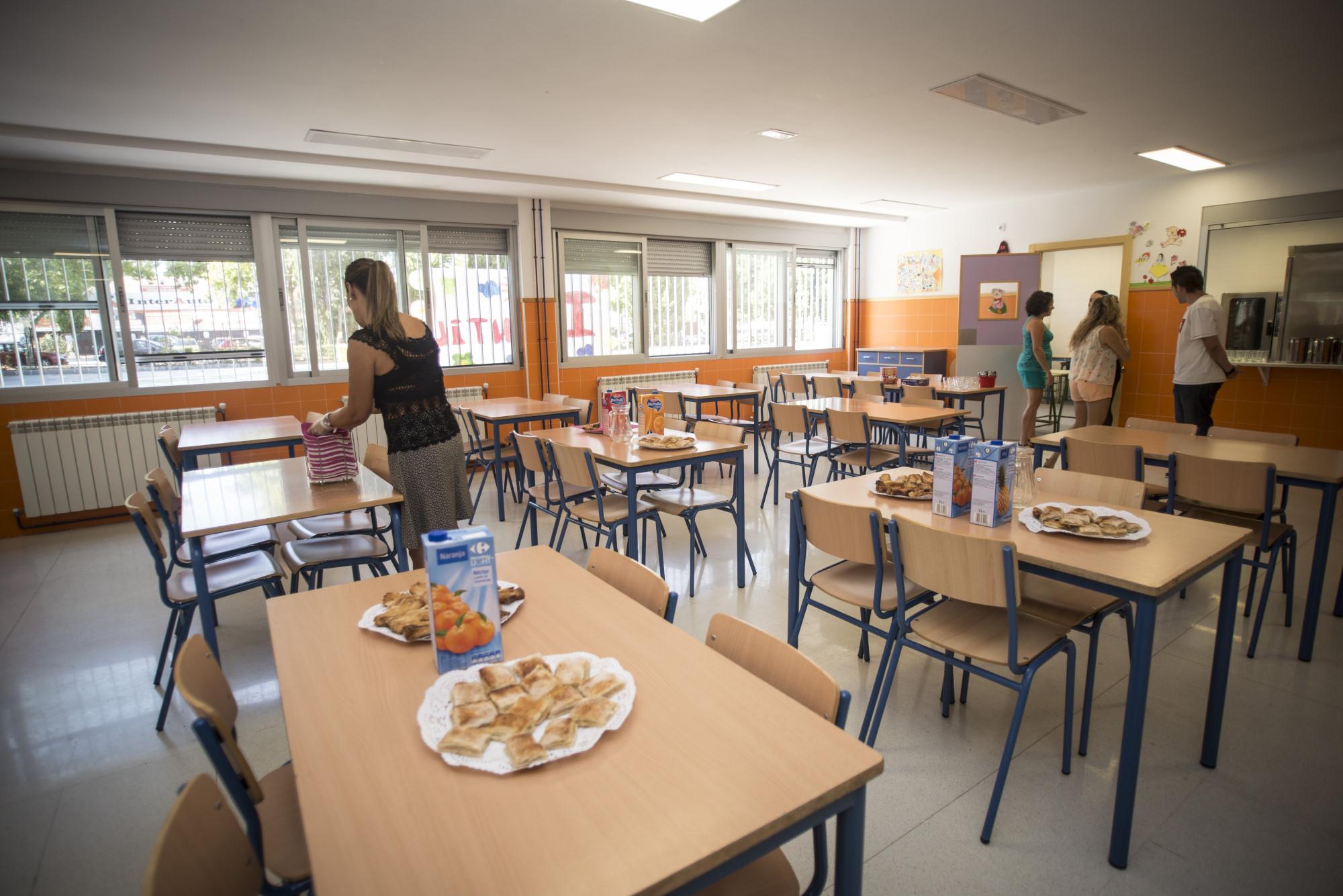 El nuevo contrato de comedores de la Junta en Granada ...