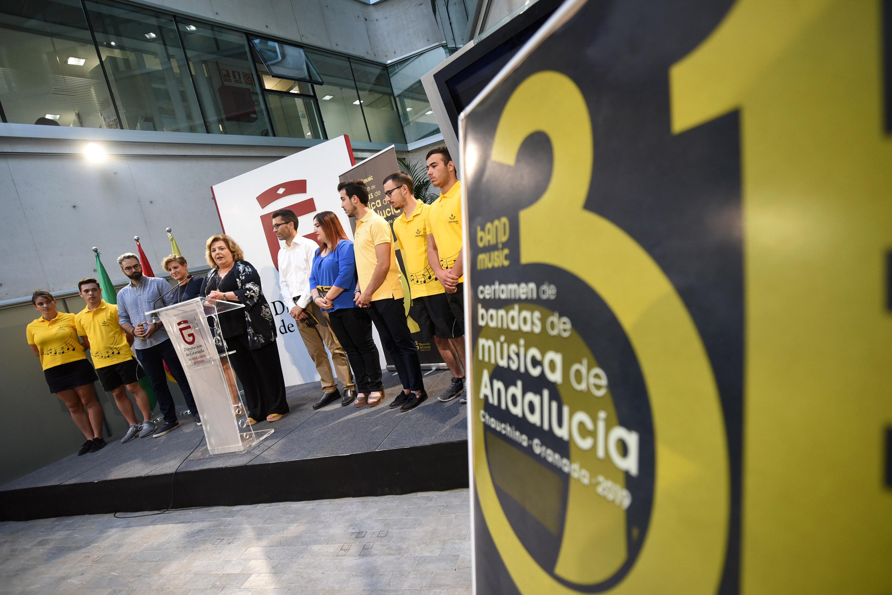 Más de 400 músicos participan en el 31 Certamen de Bandas de Chauchina
