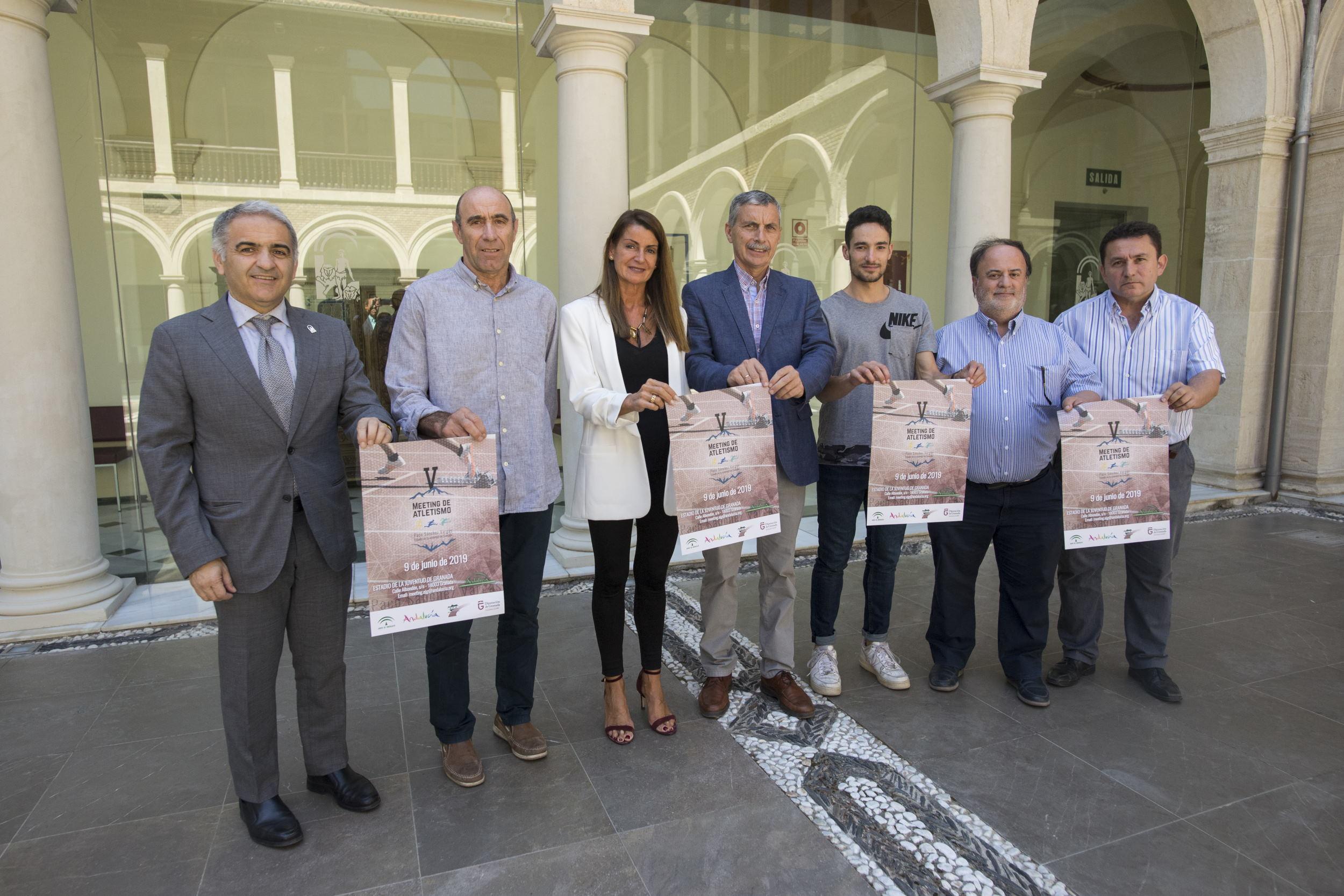 Cerca de 600 atletas participarán en Granada en el V Meeting de Atletismo Paco Sánchez Vargas