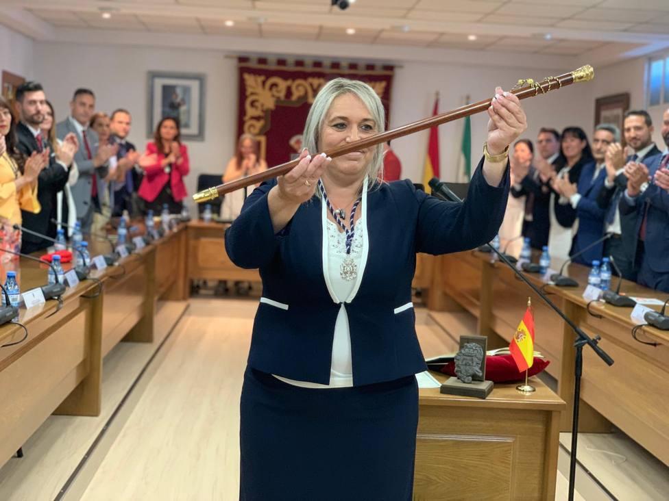 Merinda Sádaba se convierte en la primera alcaldesa del PP en Las Gabias