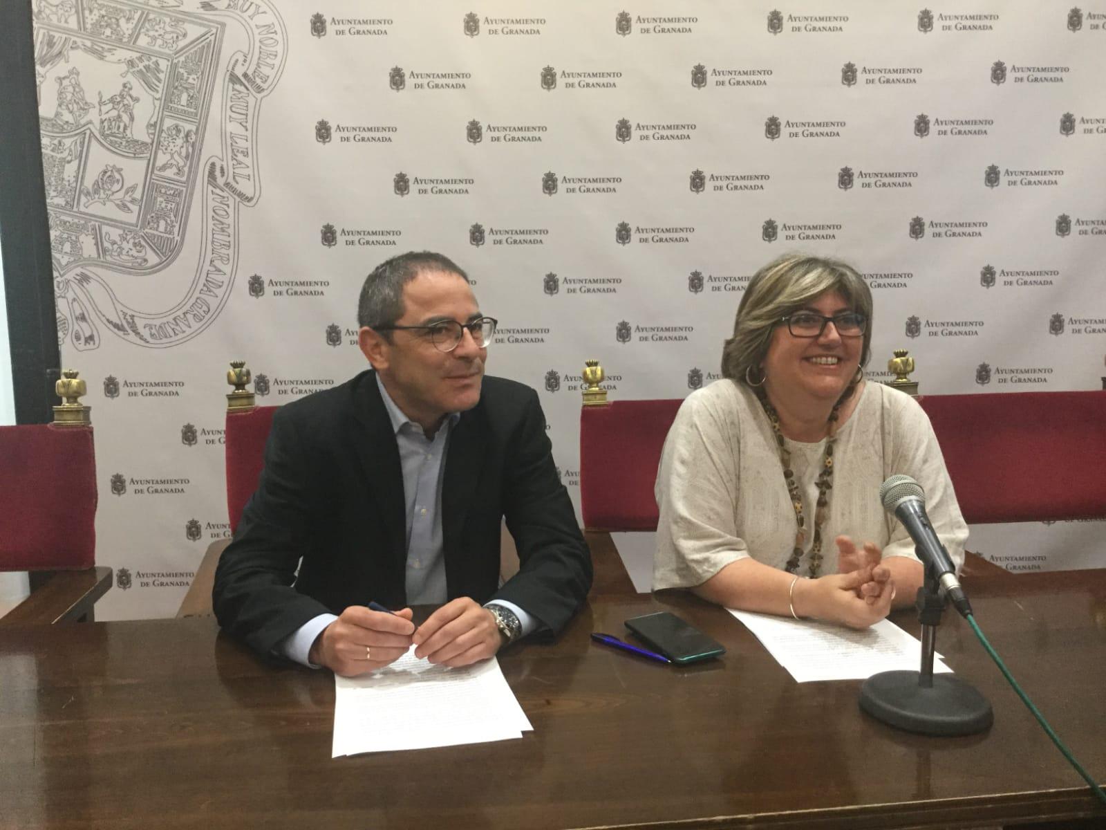 El PSOE acusa a PP y Ciudadanos de «esquilmar las arcas municipales»
