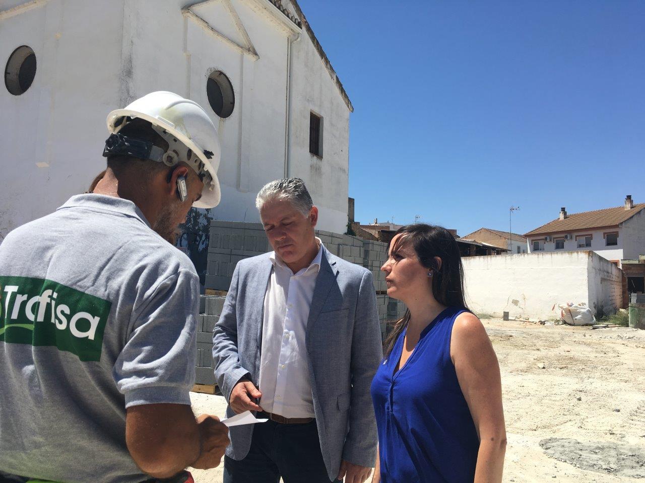Casi 800.000 euros de inversión en el Parque de la Ermita en Las Gabias y el edificio multifuncional de Híjar