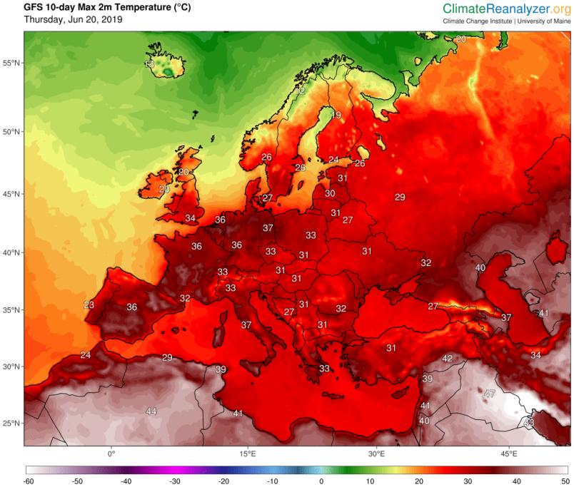 Aemet alerta de una ola de calor la semana que viene