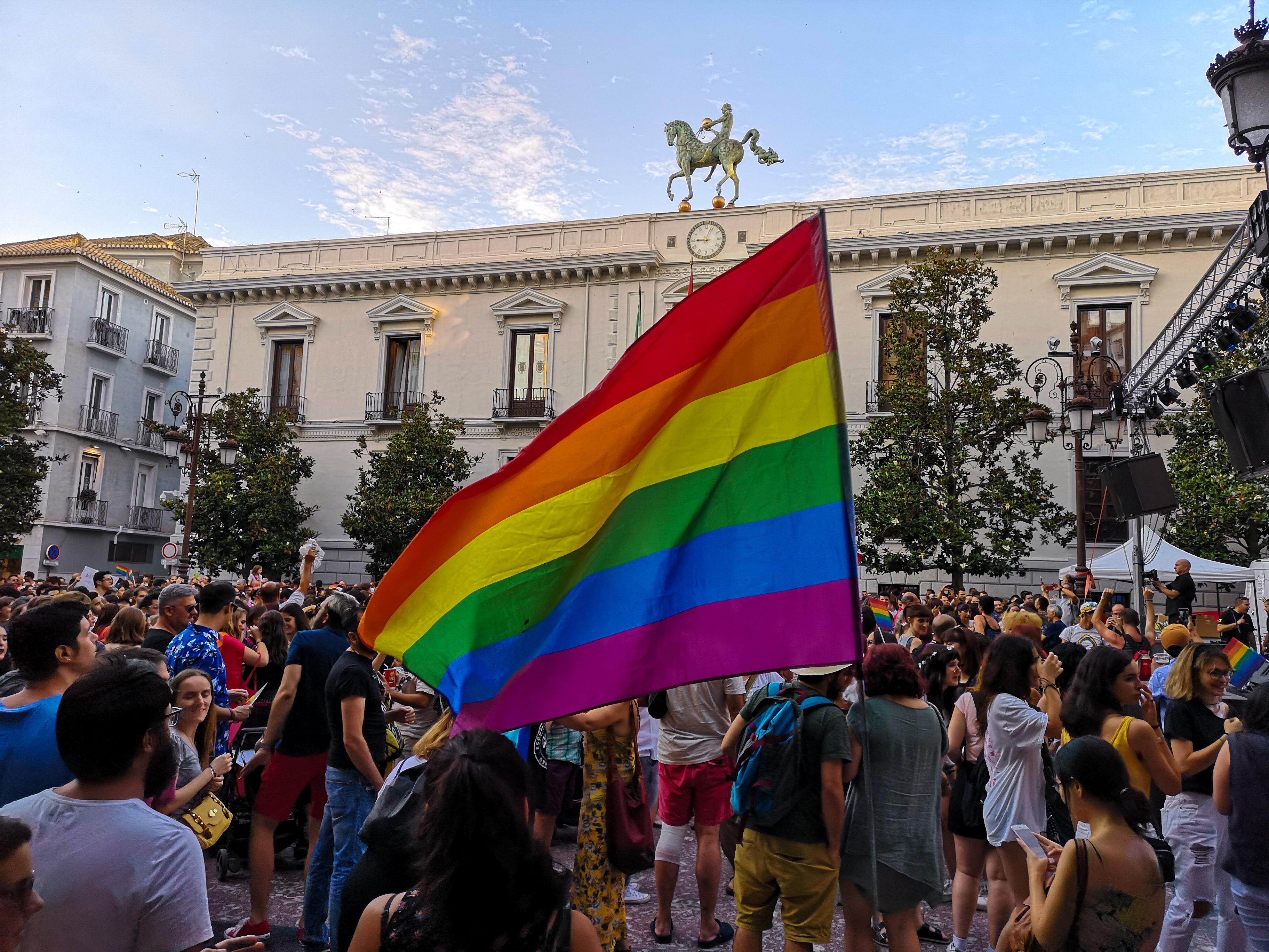 El Orgullo recuerda a los mayores en su tercer año consecutivo en Granada