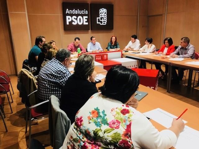 Los diputados y senadores del PSOE de Granada tendrán competencias en veinticuatro comisiones