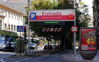 El mayor deudor con Hacienda del país gestionaba los aparcamientos de Caleta y San Lázaro