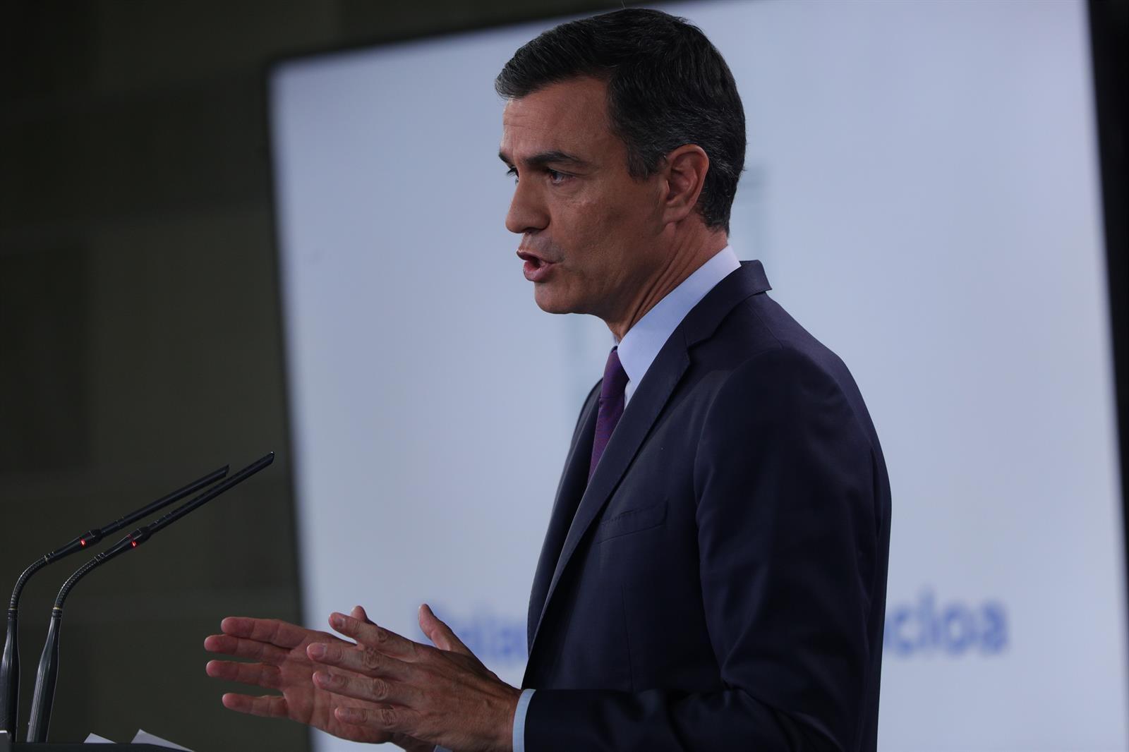 Sánchez pide a los ciudadanos de la provincia «mantener la serenidad» ante los nuevos terremotos