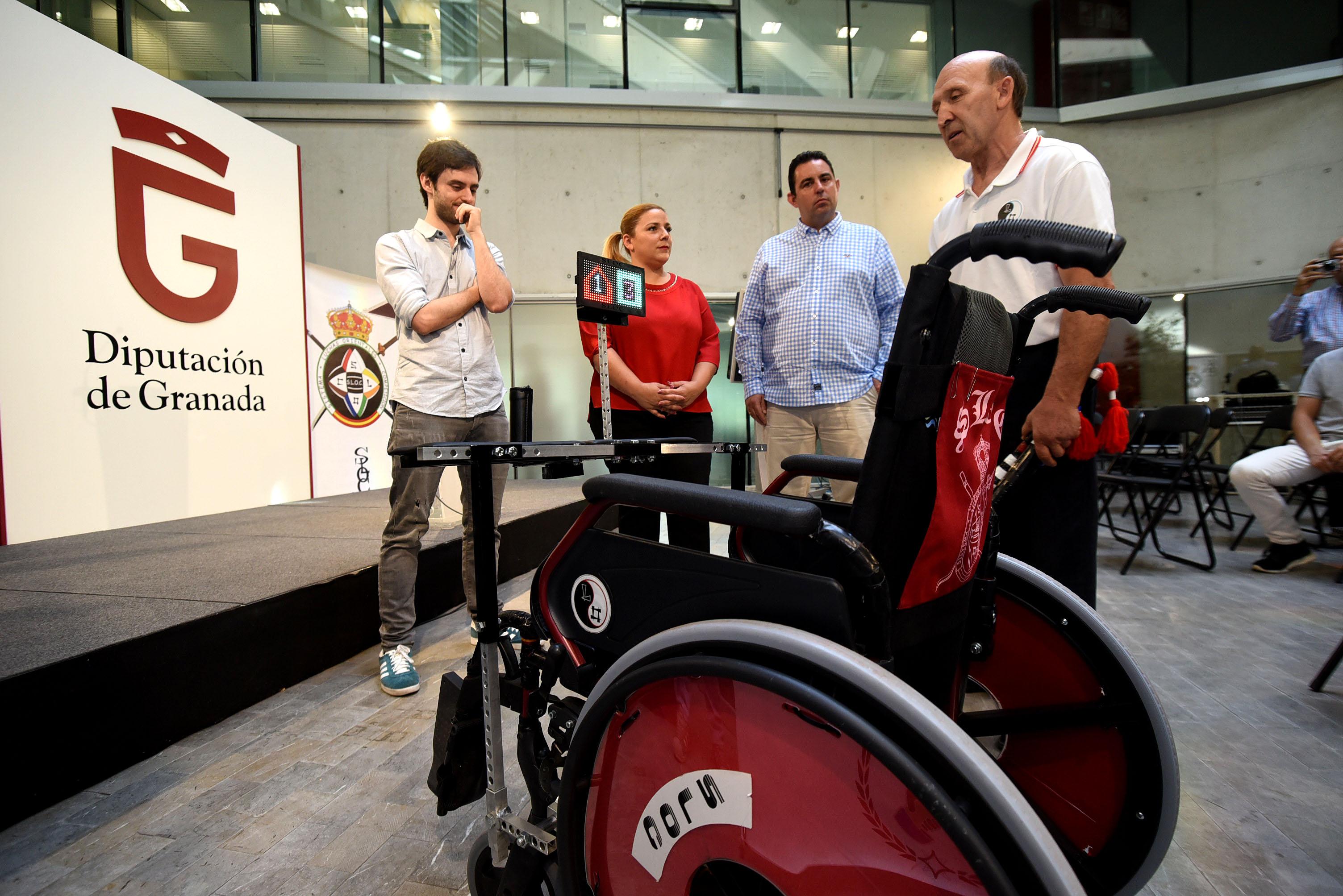 SLOC: un arte marcial para discapacitados que evoluciona gracias a la tecnología