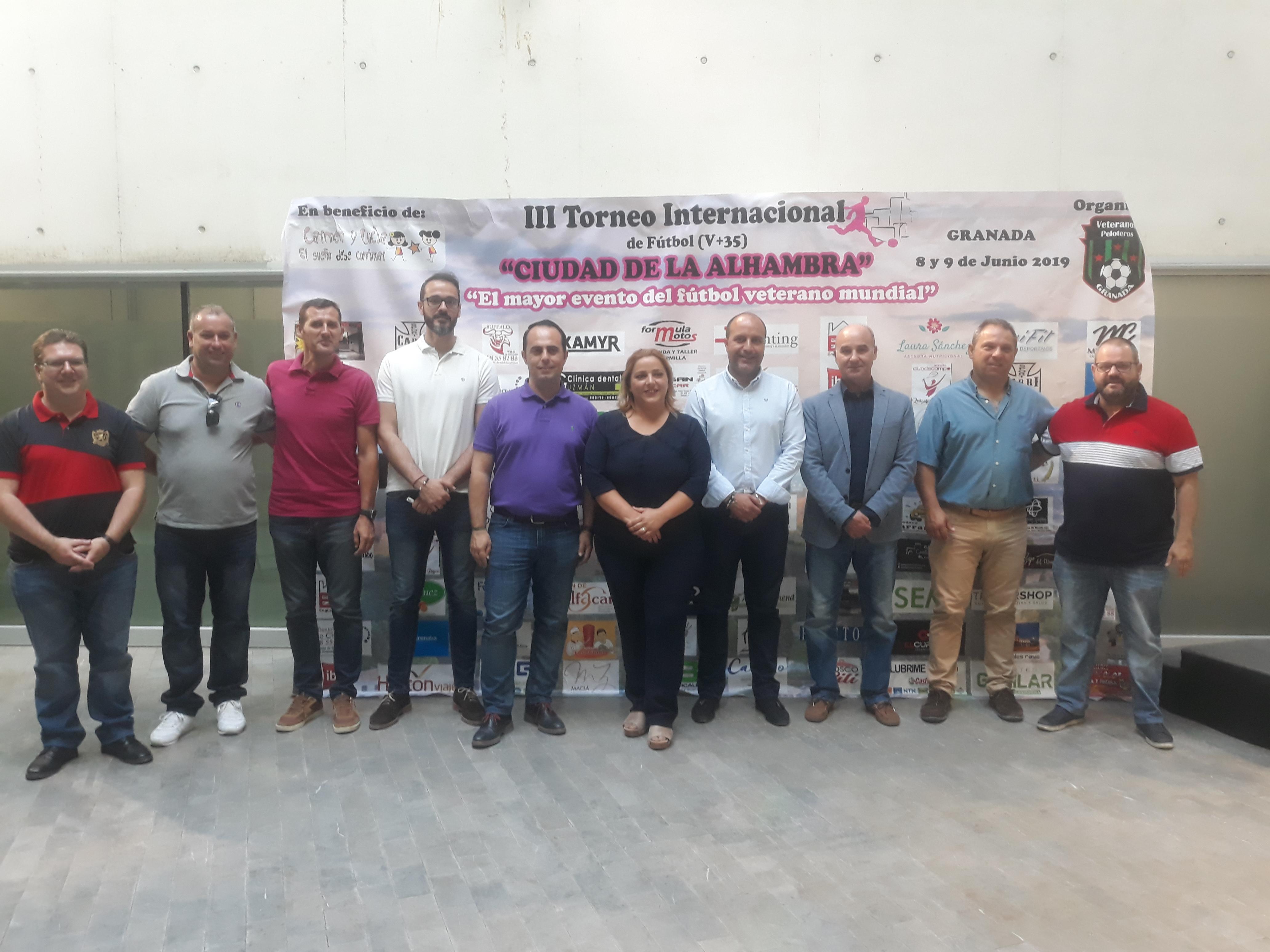 """El III Torneo Internacional """"Ciudad de la Alhambra"""" busca la solidaridad en el deporte"""