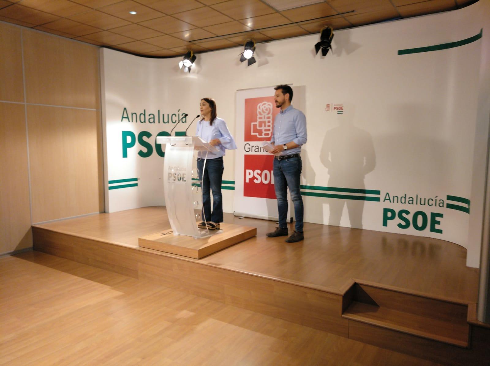 El PSOE critica que los Presupuestos de Andalucía «abandonan a Granada»