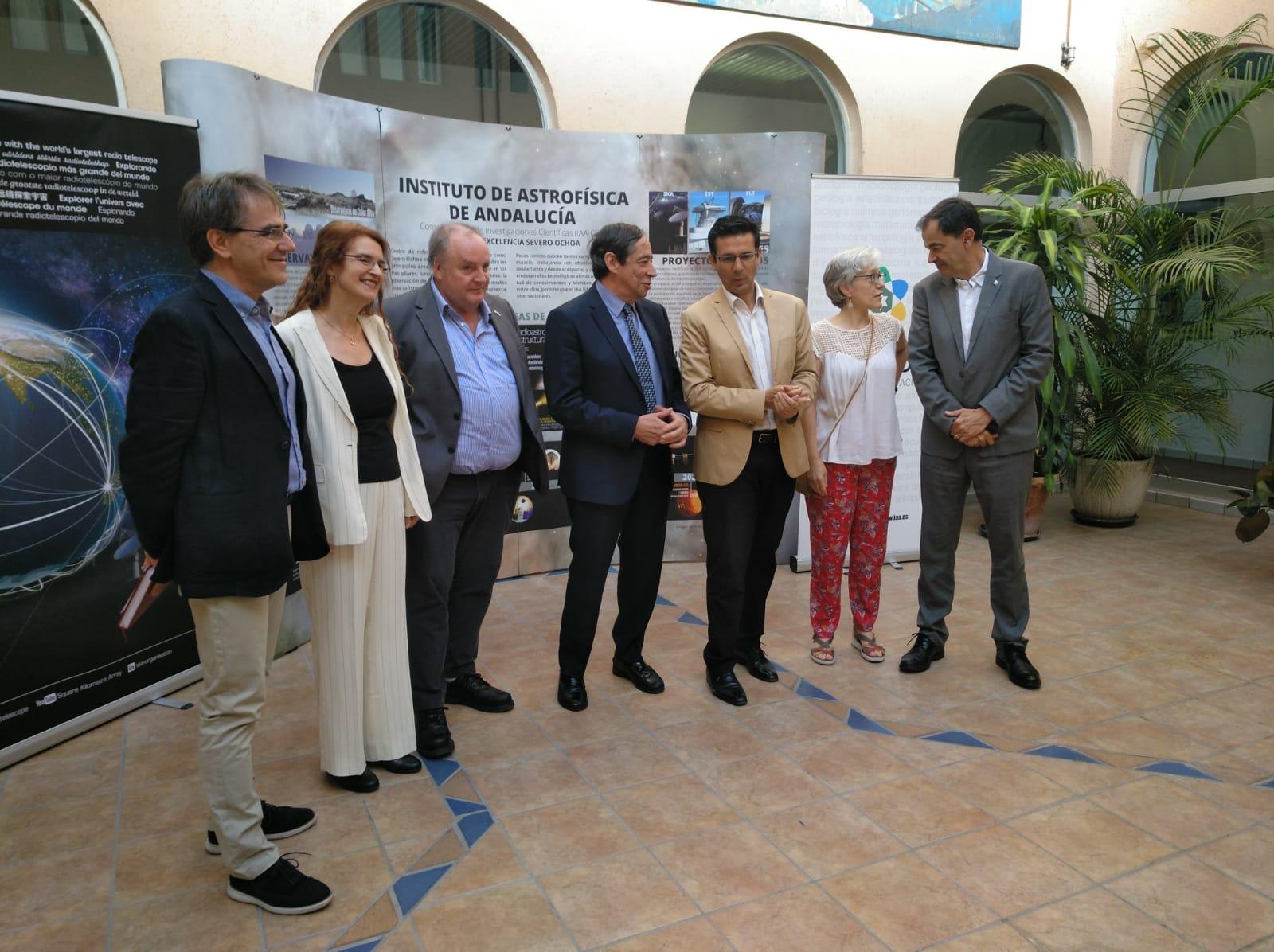 Granada se involucra en la construcción del radiotelescopio más grande del mundo