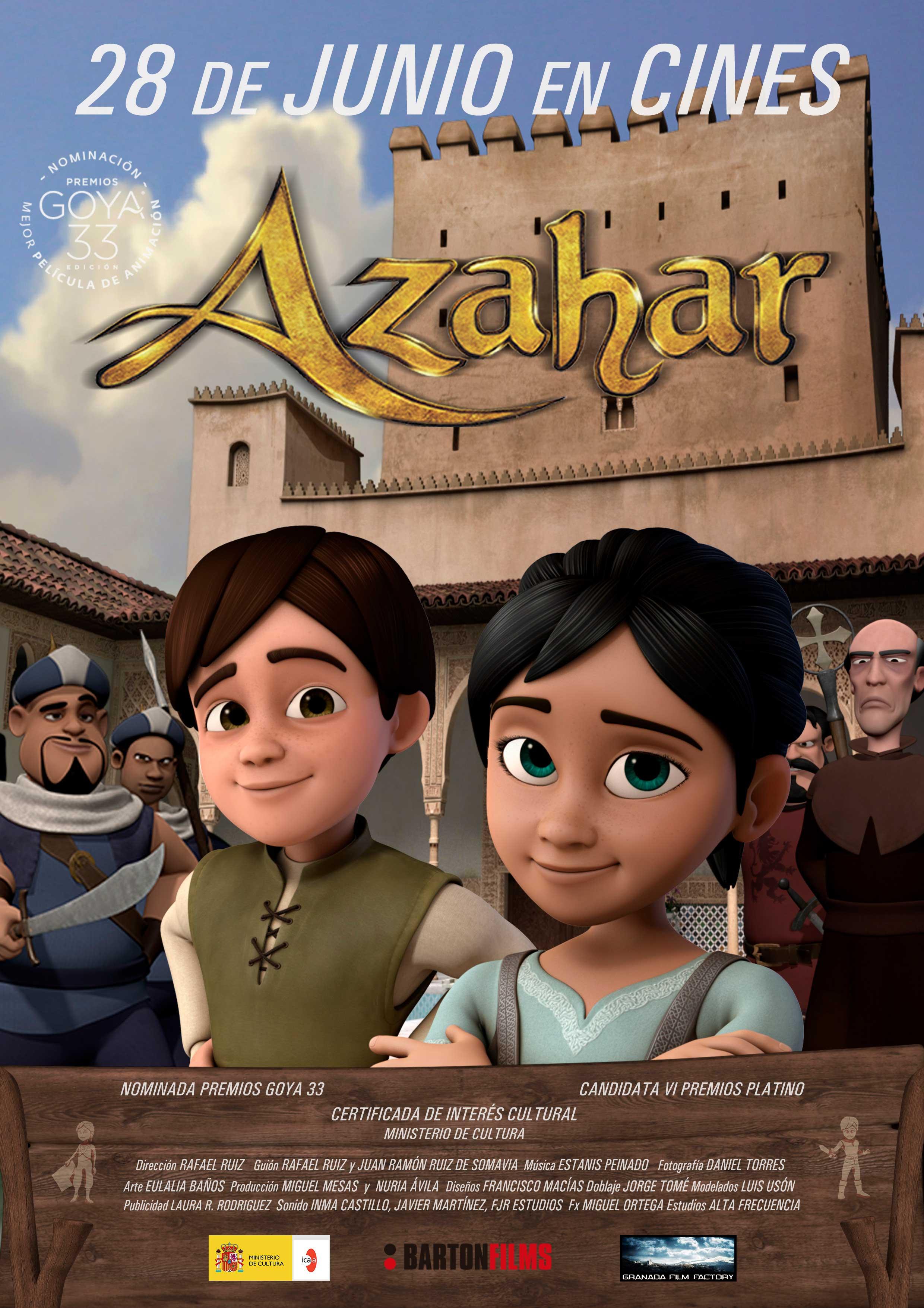 Azahar, se estrena en pantalla grande este viernes