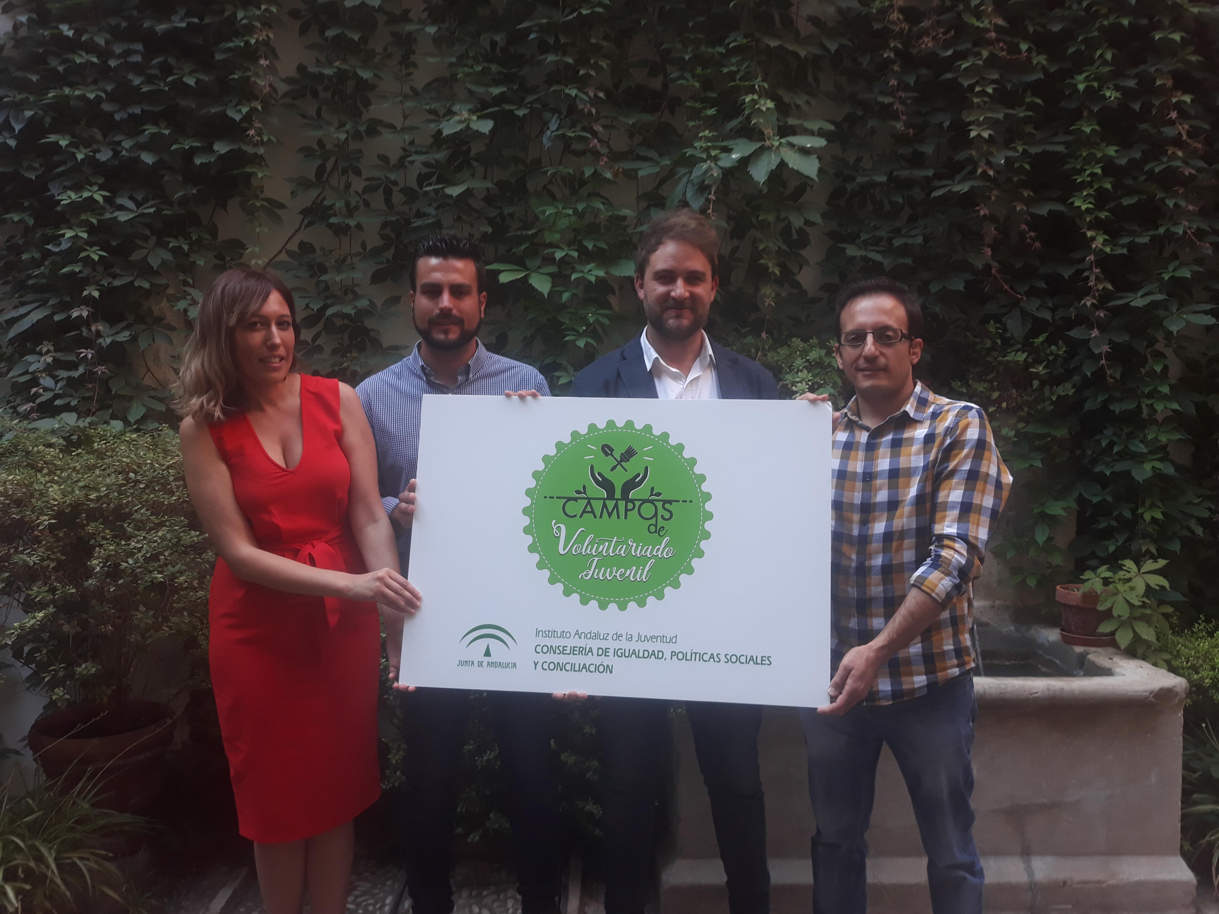 El Instituto Andaluz de la Juventud sigue apostando por los campos de Voluntariado Juvenil en Andalucía