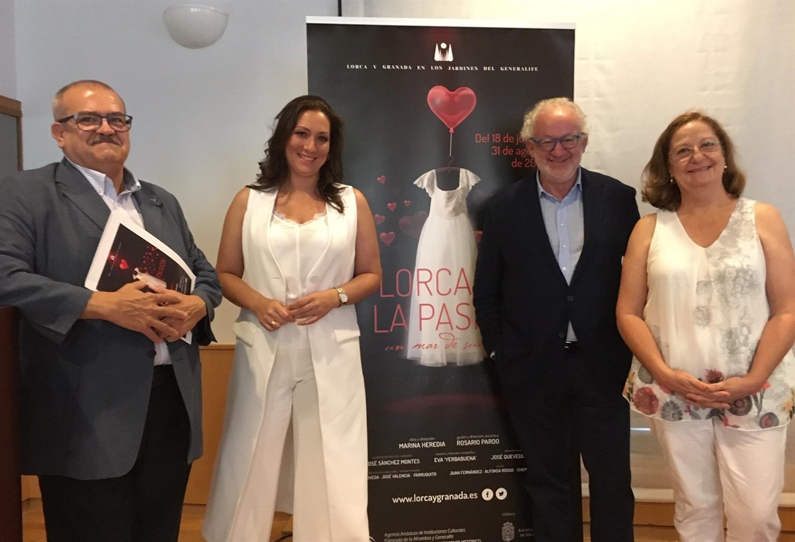 Presentan en Madrid el espectáculo 'Lorca y la pasión', que se exhibirá en La Alhambra