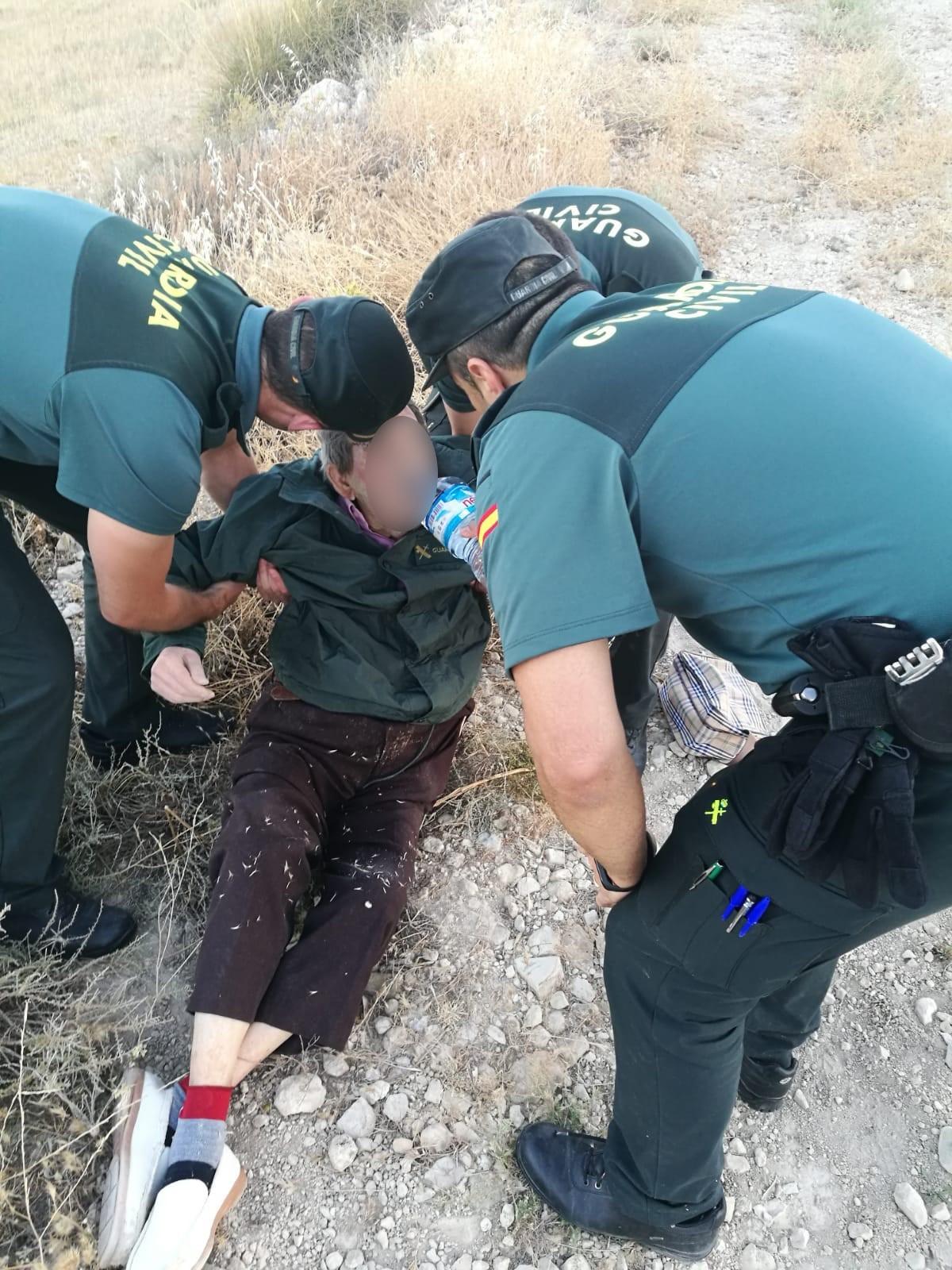 Localizado un anciano enfermo que se había escapado de la residencia de Pedro Martínez