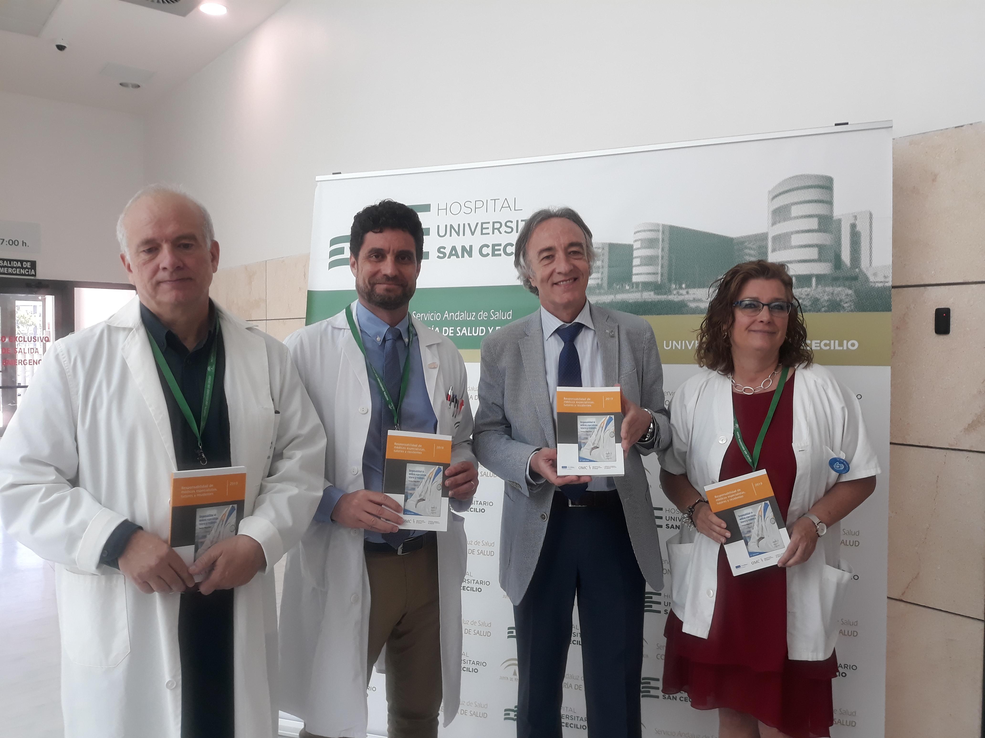 """""""La responsabilidad de médicos especialistas, tutores y residentes"""" se ha convertido en un documento único de referencia para los MIR"""
