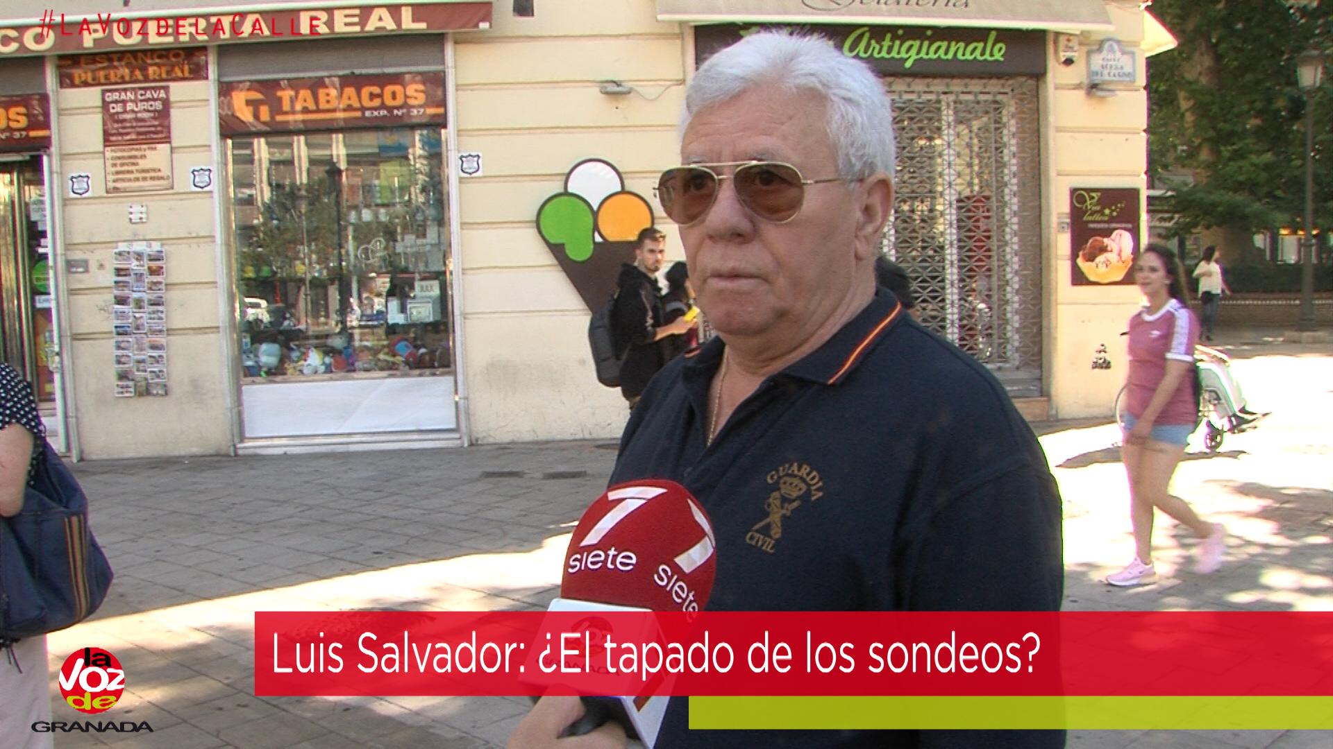 #LaVozdelaCalle: ¿Podría convertirse Luis Salvador en el próximo alcalde de Granada?