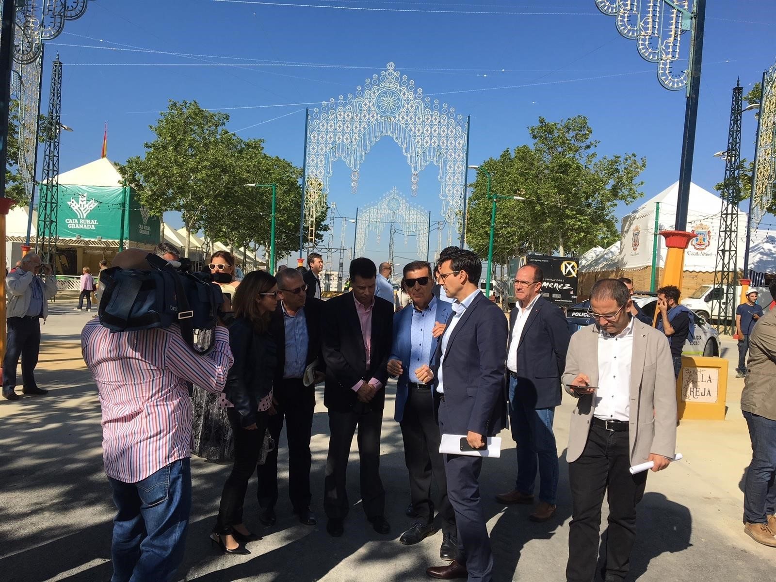 Una vecina del Zaidín encenderá el alumbrado de la Feria del Corpus