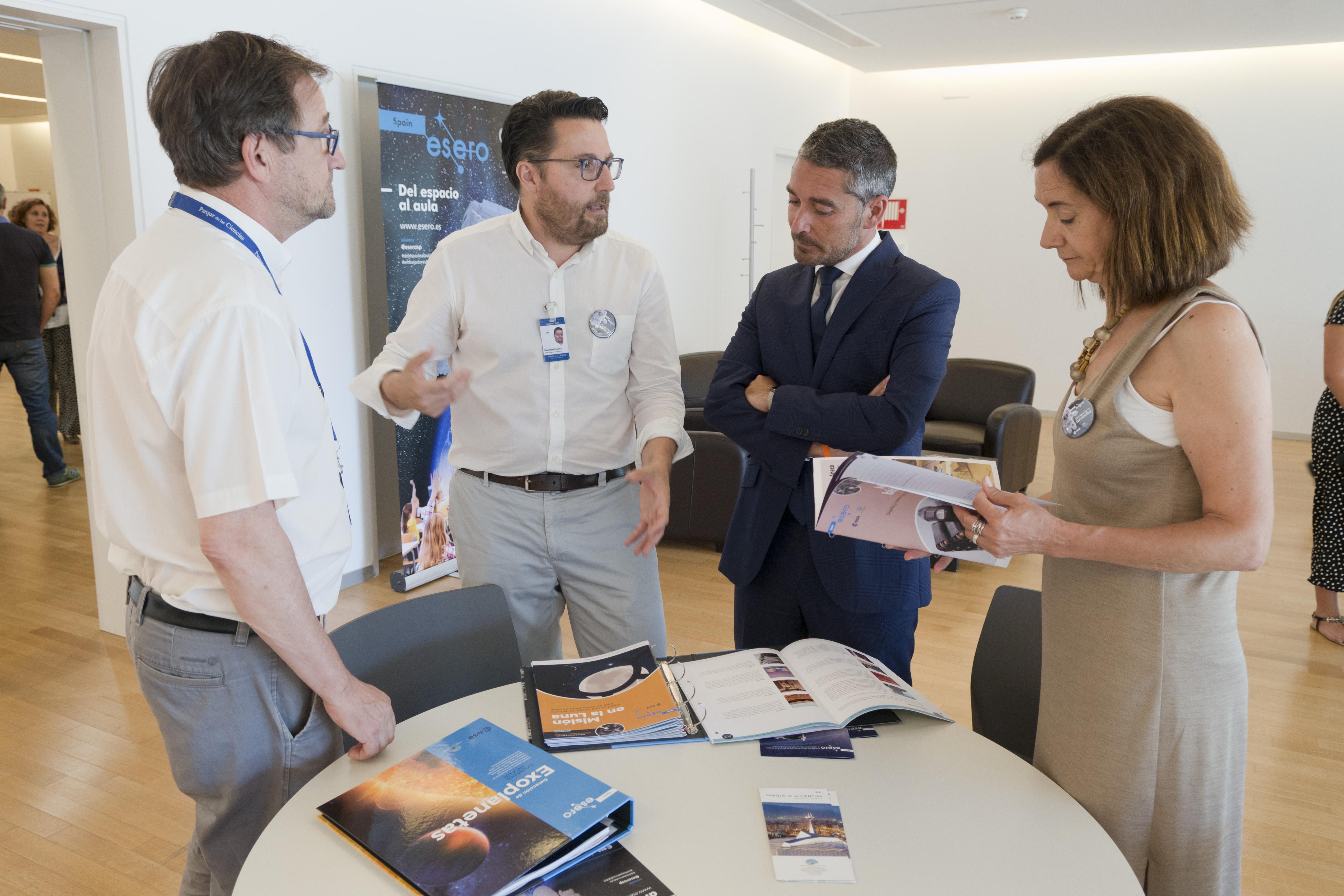 El Parque de las Ciencias coordina el programa para generar vocaciones científicas a través del espacio