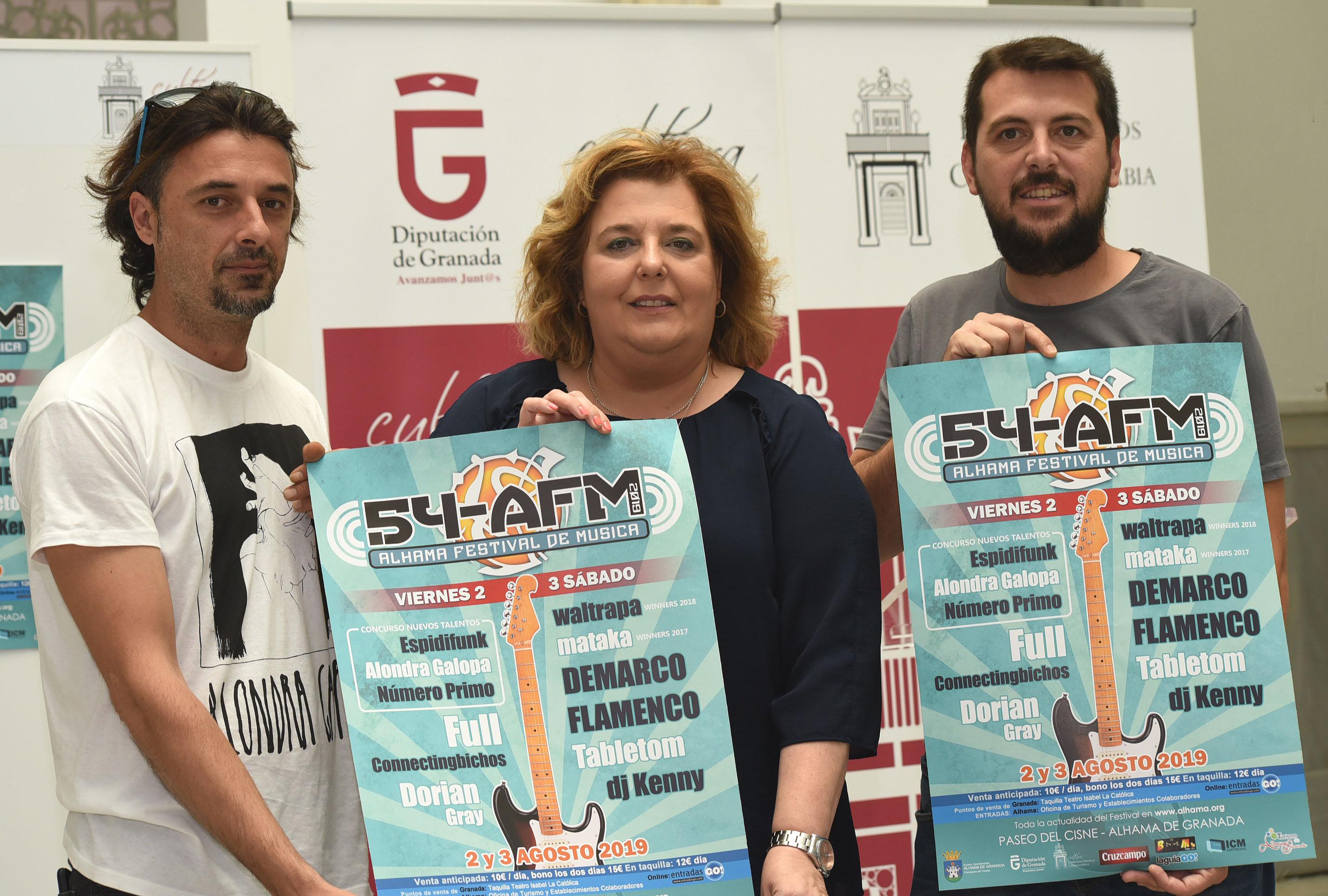 Demarco Flamenco y Full encabezan el cartel del 'Alhama Festival de Música'